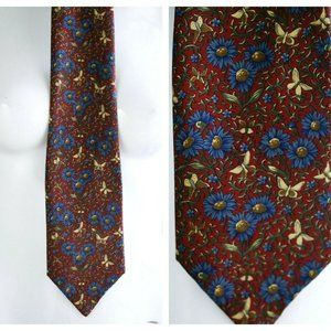 Liberty Of London Collectible Floral Silk tie